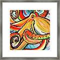 Sea Me Swirl Framed Print