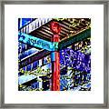 Seattle Sights Framed Print
