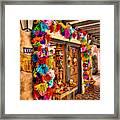 Sedona Tlaquepaque Shopping Center  Framed Print