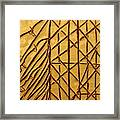 Seeking - Tile Framed Print