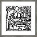 Shakespeare: Falstaff Framed Print