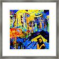 Shalom Manhattan  Framed Print