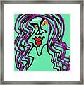 She Is Style Framed Print