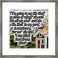 She Shed Framed Print by Leona Atkinson