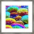 Shiney Bubbles Framed Print