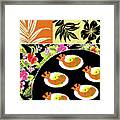 Shrimp Deviled Eggs Framed Print