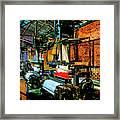 Silk Looms Framed Print