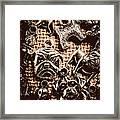 Silver Dog Show Framed Print