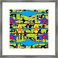 Sir Mbonu Christhe Arts Of Textile Designs #30 Framed Print