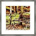 Sitting Framed Print