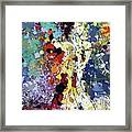Sitting Nu Abstract Framed Print