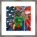 Skid Row Framed Print