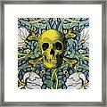 Skull And Cross4 Framed Print