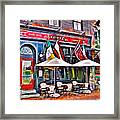 Slainte Irish Pub And Restaurant Framed Print