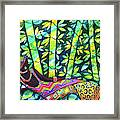 Sleep To Dream Silkpainting Belize Framed Print