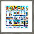Small Paintings For Sale In La Boca Area Of Buenos Aires-argentina  Framed Print