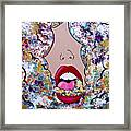 Smoke The Good, Exhale The Bad Framed Print