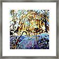 Snow Bank Framed Print