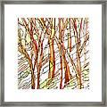 Snow Forest #1 Framed Print
