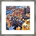 Snowy Overlook Framed Print