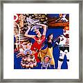 Soap Scene #23 Oscar's Kiss Of Success Framed Print