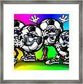 Soccer Party Framed Print