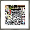 Soho Wall Framed Print