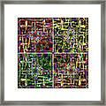Some Harmonies And Tones 17 Framed Print