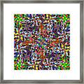 Some Harmonies And Tones 58 Framed Print