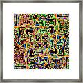 Some Harmonies And Tones 59 Framed Print