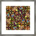 Some Harmonies And Tones 83 Framed Print
