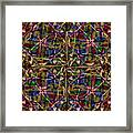 Some Harmonies And Tones 84 Framed Print