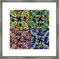 Some Harmonies And Tones 87 Framed Print