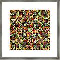 Some Harmonies And Tones 88 Framed Print