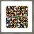 Some Harmonies And Tones 89 Framed Print