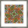 Some Harmonies And Tones 90 Framed Print