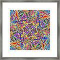 Some Symmetry 82 Framed Print