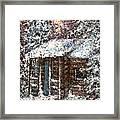 Sometimes In Winter Framed Print