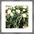 Sound Of Flowers Framed Print