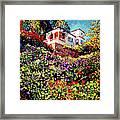 Spanish House Framed Print by David Lloyd Glover