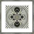 Spiral Eyes Framed Print