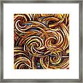 Spiral Journey Framed Print