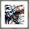 Splatter Gig Framed Print