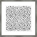 Spots Framed Print