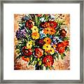 Spring Passion Framed Print