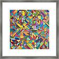 Squark And Lepton Fields Framed Print