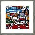 Ss Studebaker Framed Print by Rojax Art