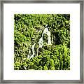 St Columba Falls Tasmania Framed Print