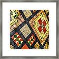 St. Patrick's Cathedral Mosaic Floors Framed Print