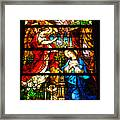 Stained Glass - Cape May Framed Print